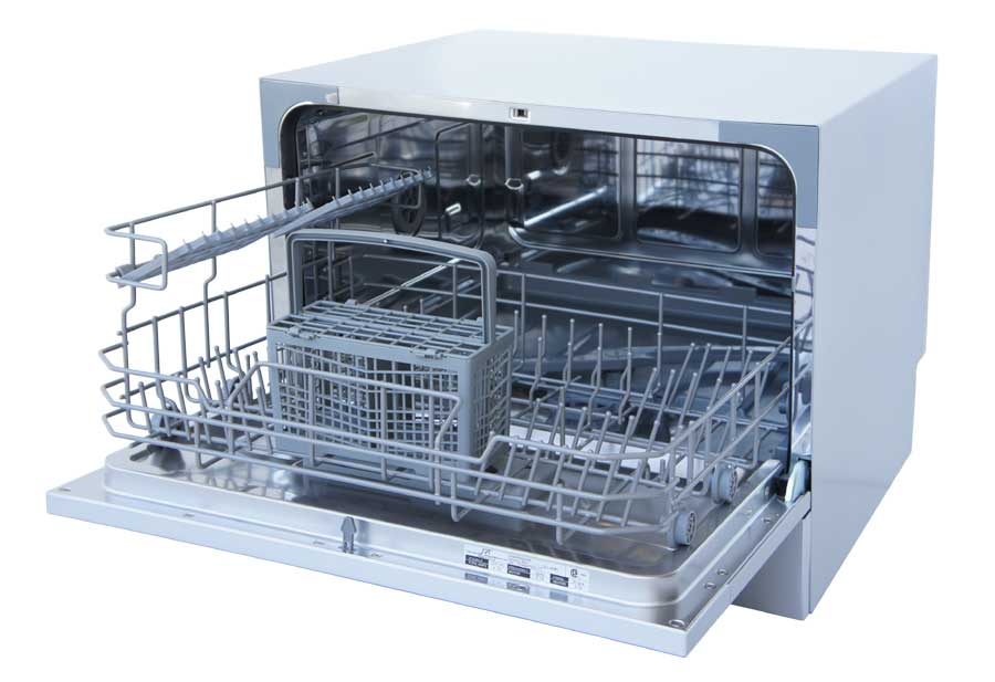 Countertop Dishwasher Adapter : For quick and easy connection to most kitchen faucets